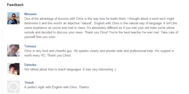 Learn English Online - English With Chris